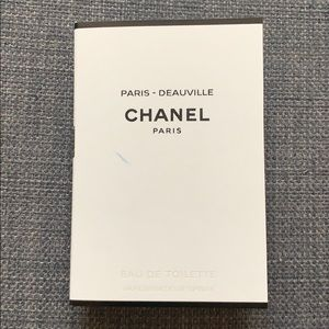 Chanel Paris Deauville Fragrance Sample New